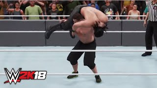 WWE 2K18 Dream Match: Seth Rollins vs. John Cena