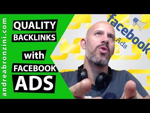 Creating Quality Backlinks with Facebook Ads !?!?!
