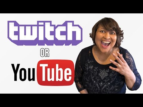 Live Streaming on YouTube versus Twitch