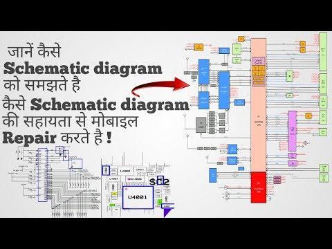 Mobile Schematic Diagram को कैसे समझे ?