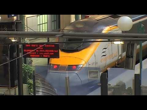 Eurostar Train Travel & Paris to London Travel Video