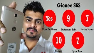 Gionee S6S Service support and review | know your gadget