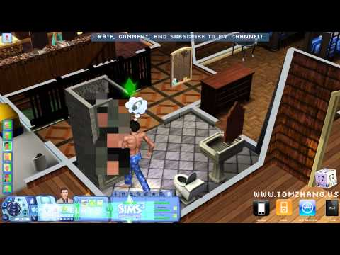 The Sims 3 Generations New WooHoo Shower Tree House HD