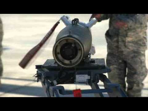 USAF Reaper Drone Aircraft Weapons loader