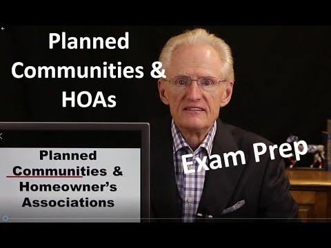 54 HOAs: Arizona Real Estate License Exam Prep