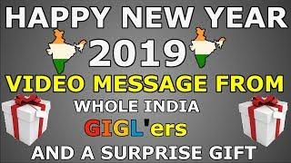 पुरे हिंदुस्तान के GIGL'ers आपको अपना 2019 NEW YEAR RESOLUTION बताना चाहते है    NEW YEAR WISHES