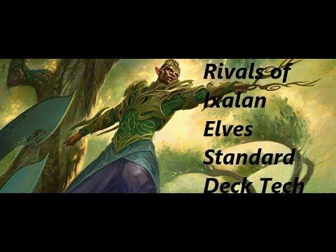 MTG Rivals Of Ixalan Standard Elf Deck Tech