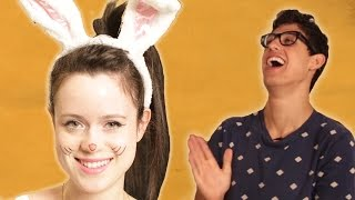 Boyfriends Choose Their Girlfriends' Halloween Costumes