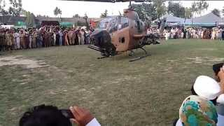 pak army cobra helicopter take off by Faisal