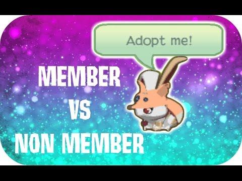 Member vs non Member - Animal Jam Adopting Experiment - (Original)