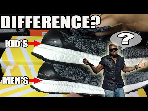 What's The Difference? Men's / Kids / Women's Ultra Boost Comparison / Sizing