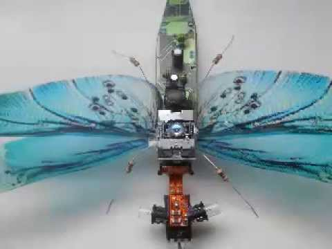 ECO BUGS Electronic Component Oddity's Recycled Art
