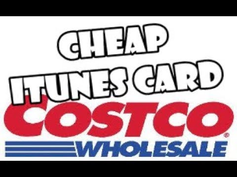Cheap iTunes Cards at Costco