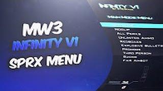 🖕[MW3/1 24/PS3] Infinity V1 SPRX Mod Menu FREE [CEX/DEX] w/Download! (Best  Free Mw3 Mod Menu?)🖕 - getplaypk