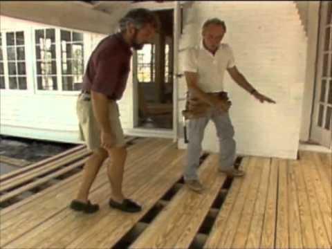 Building a Floating Deck - Bob Vila