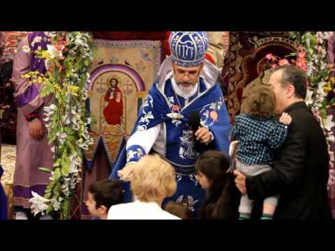 Palm Sunday Celebration at Holy Trinity Armenian Church of Toronto 2017