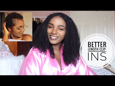 HOW TO | Blend Clip Ins with Short Natural Hair ft. Better Length