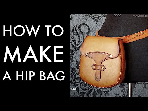 hip bag tutorial