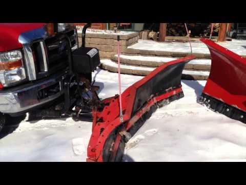 BATTLE of the SNOW PLOWS Hiniker vs Western