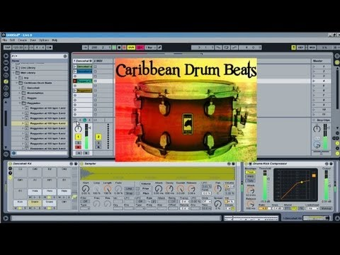 Free Caribbean MIDI Library - Dancehall, Moombahton, Reggaeton, and Reggae Beats - Drum Beats