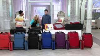 Biaggi Zip Sak Foldable Luggage by Lori Greiner on QVC