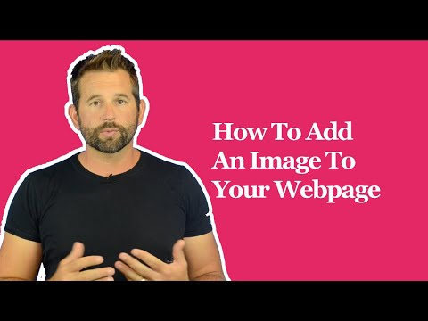 How To Add An Image To Your Webpage