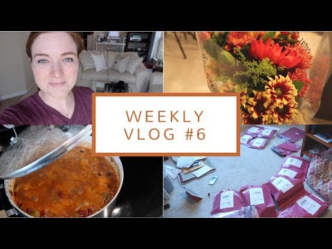 Mail Problems, Etsy Orders, + Embracing Fall | Weekly Vlog #6 (Sep. 5-7, 2017)