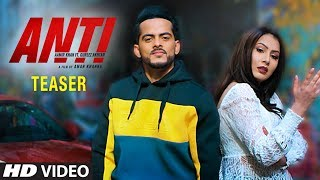 Song Teaser ► Anti: Aamir Khan Ft Gurlej Akhtar | Western Penduz | Happy Raikoti | Releasing 22 May