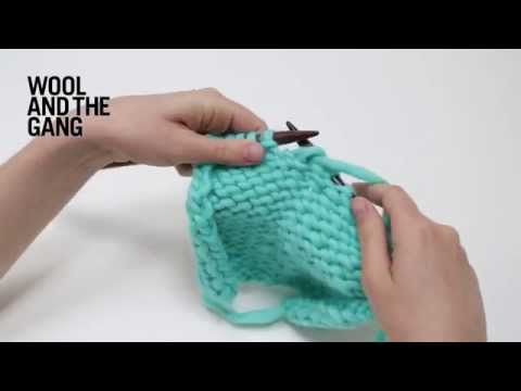How to make a purl decrease that leans to the right