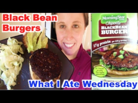 What I Ate: Chipotle Black Bean Burgers | June 14