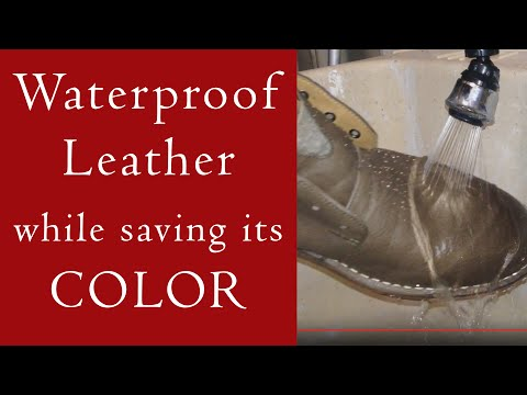 How to Waterproof Leather Without Changing Its Color
