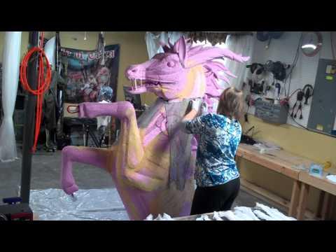 Build Outdoor Halloween Monster Props