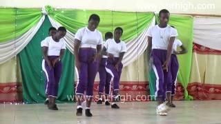 Tepa SHS Choreography Dance (2014 Asanteman SHS Funfair)   Music Jinni