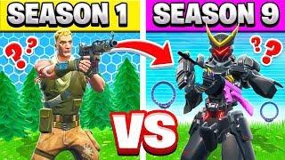 Season 1 vs Season 9 TRIVIA Challenge (Fortnite)