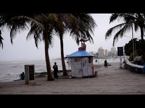 Bandstand Promenade, Mumbai, India in the Morning