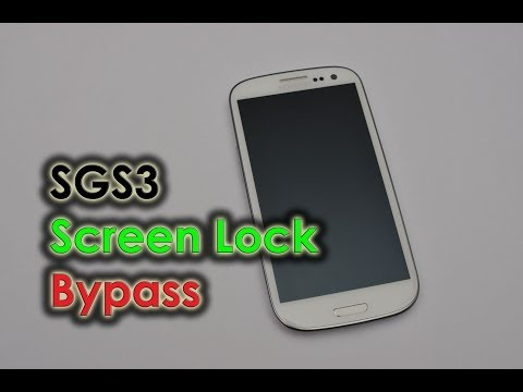 Galaxy S3 - Bug Report: Screen Lock Bypass