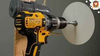 4 Amazing Homemade  Tools - Using a Drill