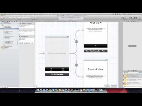 Xcode Tutorial : Custom Tab and Nav Bars