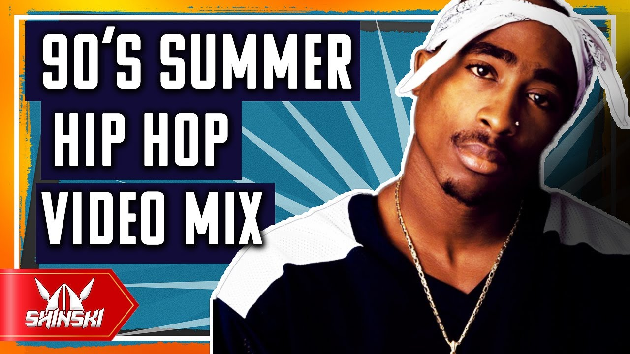 Best of 90s Hip Hop Summer Hits Clean Video Mix - Dj Shinski [2 pac, Notorious BIG, Snoop dogg, Dre]