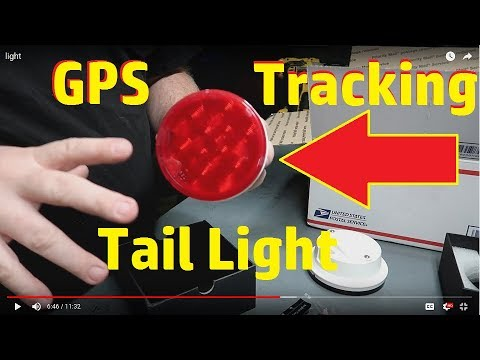 Anytrek GPS Tracking Tail lights.Unboxing.....
