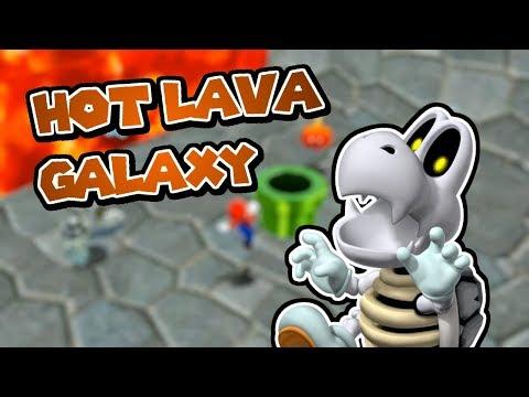 Lava Enemy GAUNTLET, Hot Lava Galaxy! (Super Mario Galaxy 2 Custom Level)