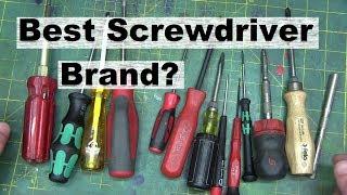 Screwdrivers is BEST screwdrivers?