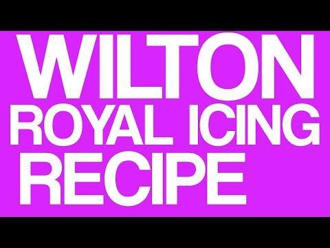 Easy Wilton Royal Icing Recipe Tutorial - OFFICIAL WILTON RECIPE