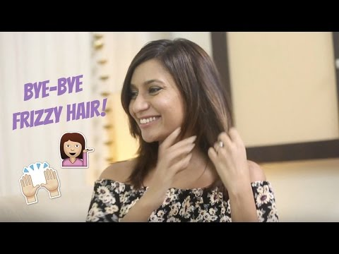 How To: Get Rid Of Frizzy Hair In Minutes!