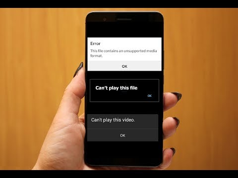 How to Fix Can't play this video, Unsupported video Issues in Android Phone (Play any type of Video)