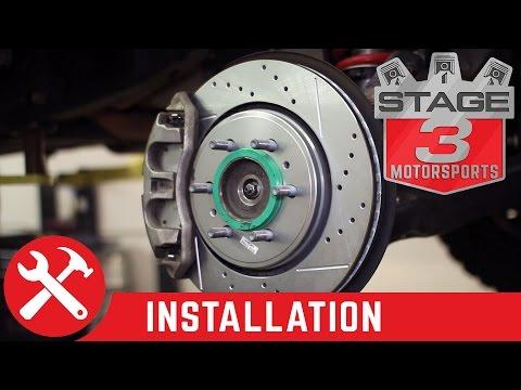 2015-2018 F150 & Raptor Power Stop Z36 Complete Brake Kit Install