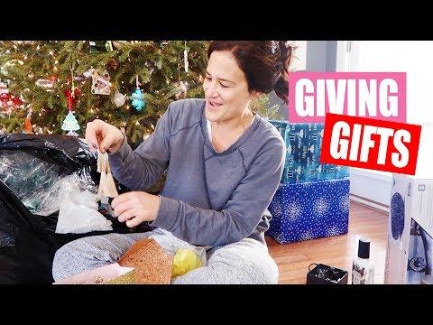 Christmas Morning Gift Exchange!