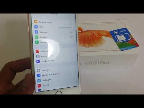 AU iphone6s plus factory Unlocked
