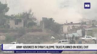 Army advances in Syria