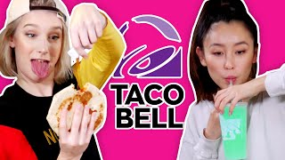 WE ATE EVERYTHING AT TACO BELL (It didn't go well)